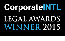 Los Angeles Attorney Corporate INTL Award Winner